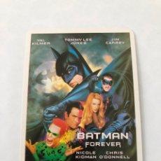 "Cinema: CALENDARIO DE BOLSILLO CINE ""BATMAN FOREVER"" AÑO 1997. Lote 208079203"