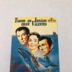 "Cinema: CALENDARIO DE BOLSILLO CINE ""TODOS OS IRMAOS ERAM VALENTES"" AÑO 1990. Lote 208079572"