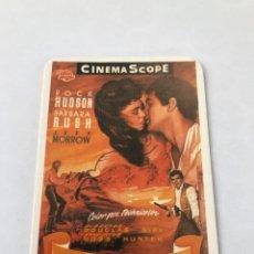 "Cinema: CALENDARIO DE BOLSILLO AÑO 1993. REPRODUCCIÓN CARTEL CINE ""ORGULLO DE RAZA"". Lote 208081770"