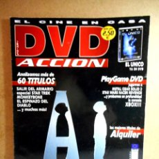 Cinéma: DVD ACCIÓN Nº 13. Lote 208235150