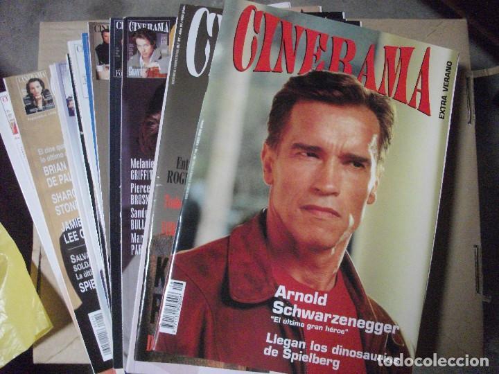 CINERAMA, 17 REVISTAS, SE INCLUYE 7 PRIMERAS ENTREGAS DEL DICCIONARIO DE ACTORES Y 5 CINTAS VHS (Cine - Revistas - Cinerama)