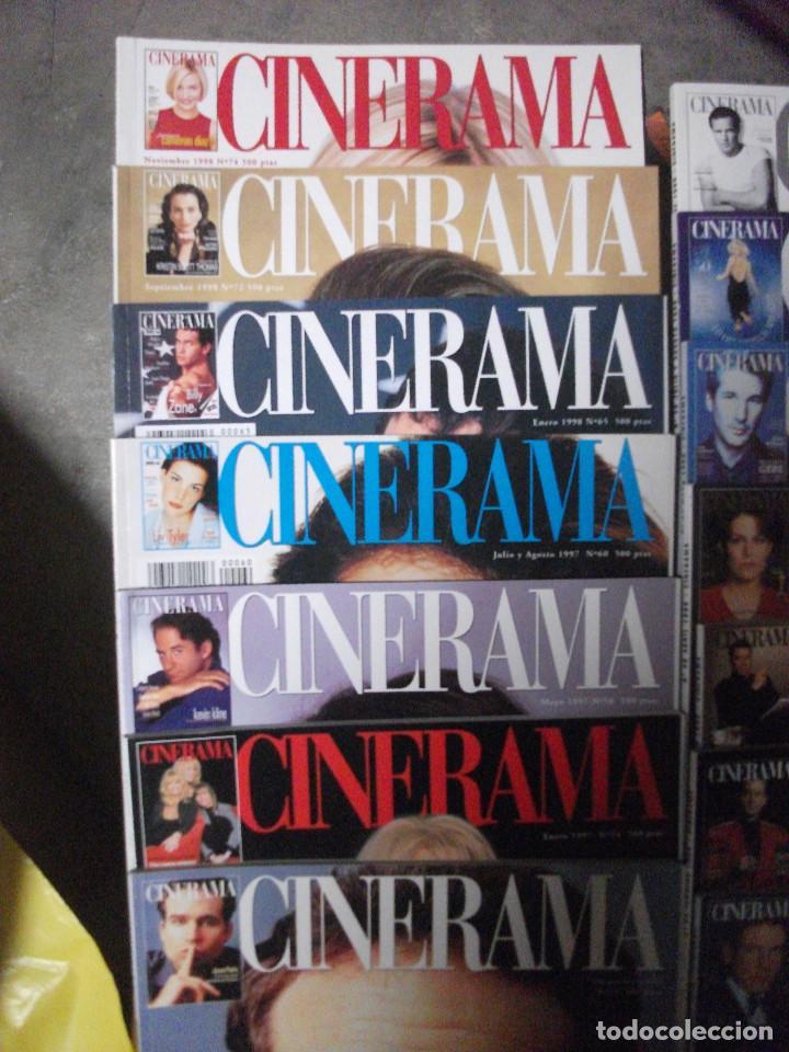 Cine: CINERAMA, 17 REVISTAS, SE INCLUYE 7 PRIMERAS ENTREGAS DEL DICCIONARIO DE ACTORES Y 5 CINTAS VHS - Foto 2 - 208342841