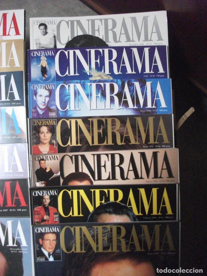 Cine: CINERAMA, 17 REVISTAS, SE INCLUYE 7 PRIMERAS ENTREGAS DEL DICCIONARIO DE ACTORES Y 5 CINTAS VHS - Foto 3 - 208342841