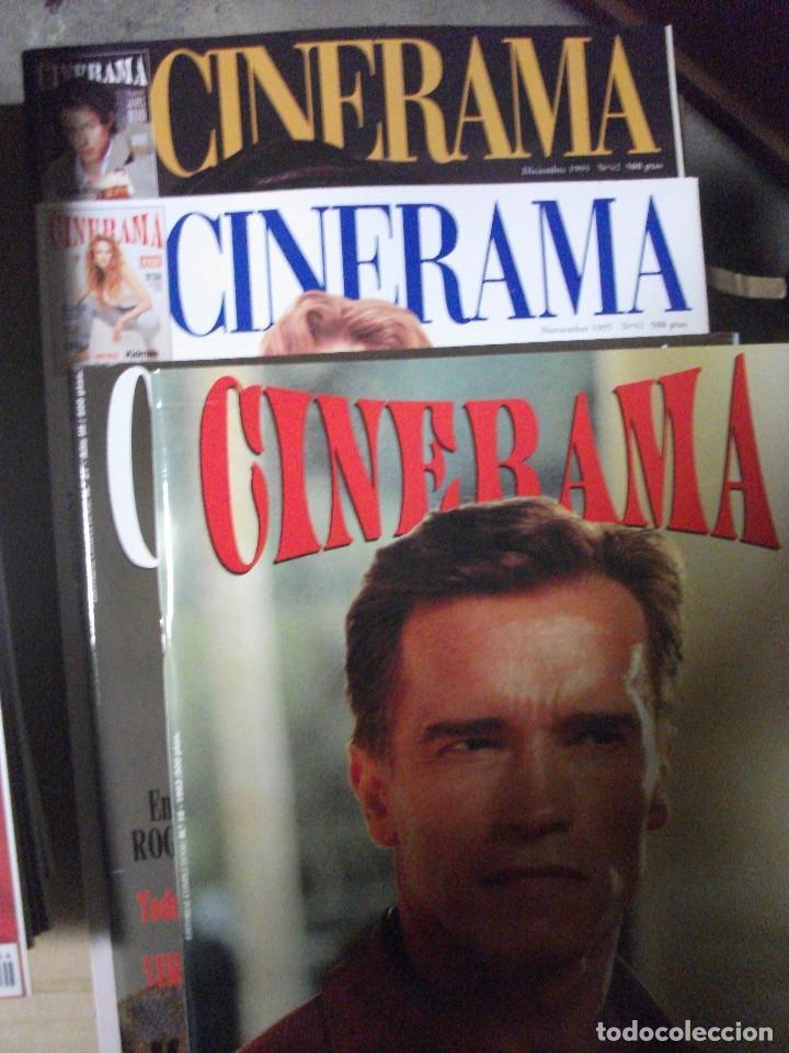 Cine: CINERAMA, 17 REVISTAS, SE INCLUYE 7 PRIMERAS ENTREGAS DEL DICCIONARIO DE ACTORES Y 5 CINTAS VHS - Foto 4 - 208342841