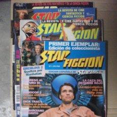 Cine: STAR FICCION, 4 REVISTAS Nº 1, 4, 5 Y 12. Lote 208343131