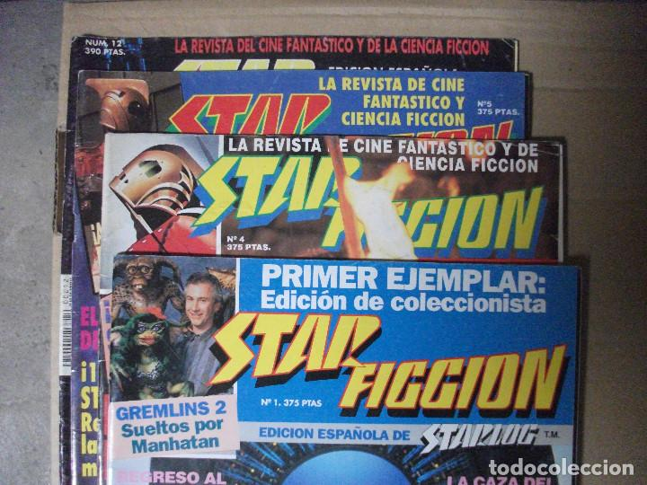 Cine: STAR FICCION, 4 REVISTAS Nº 1, 4, 5 Y 12 - Foto 2 - 208343131