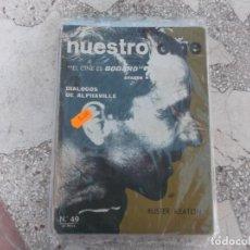 Cine: NUESTRO CINE Nº 49 1966, GODARD, DIALOGOS DE ALPHAVILLE,BUSTER KEATON, CINE CUBANO Y URUGUAYO. Lote 208352203