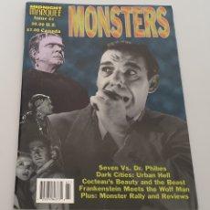 Cine: REVISTA MIDNIGHT MARQUEE MONSTERS N°61 (1999) CINE DE TERROR Y MONSTRUOS. Lote 208379006