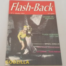 Cine: REVSITA FLASH-BACK N°1 (1992) GODZILLA, FLASH GORDON... Y MUCHO MÁS!. Lote 208379690