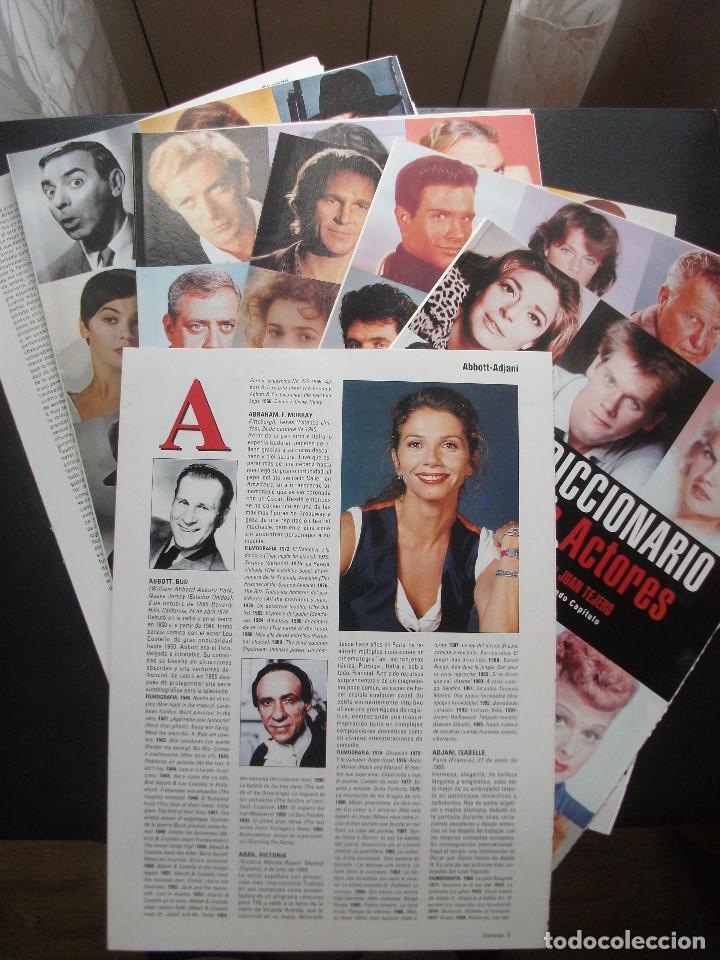 Cine: CINERAMA, 17 REVISTAS, SE INCLUYE 7 PRIMERAS ENTREGAS DEL DICCIONARIO DE ACTORES Y 5 CINTAS VHS - Foto 9 - 208342841