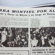 Cine: SARA MONTIEL EN BUENOS AIRES. Lote 208834776