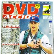 Cine: DVD ACCION REVISTA CINE EN CASA N 14 JUNIO 2002. Lote 208877905