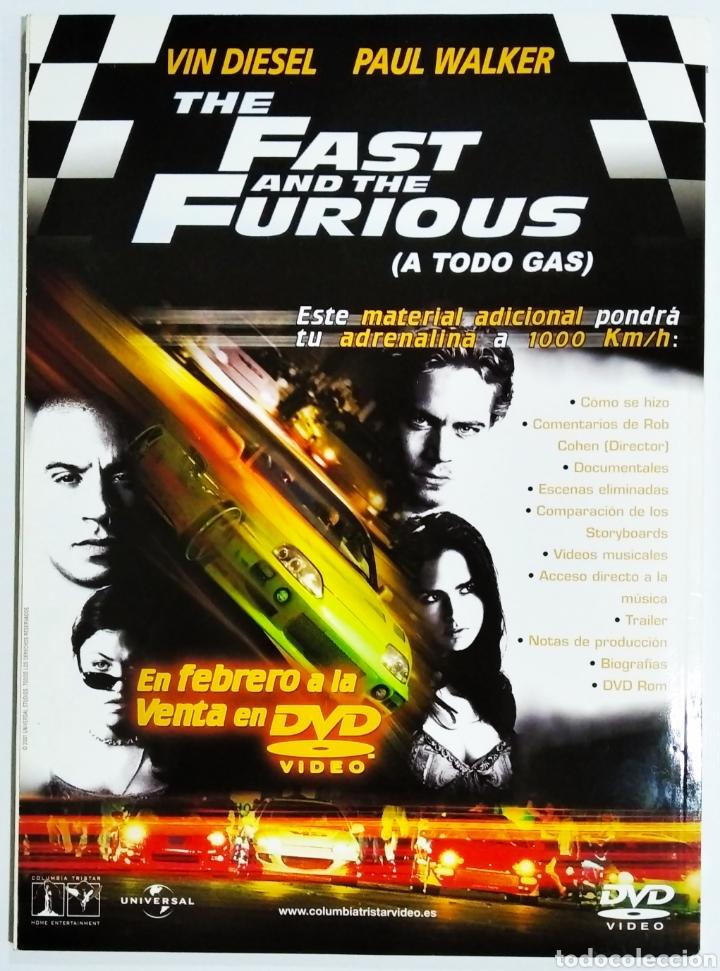 Cine: DVD ACCION REVISTA CINE EN CASA N 10 FEBRERO 2002 - Foto 2 - 208929317