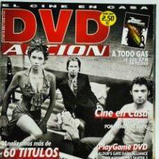 Cine: DVD ACCION REVISTA CINE EN CASA N 10 FEBRERO 2002. Lote 208929317