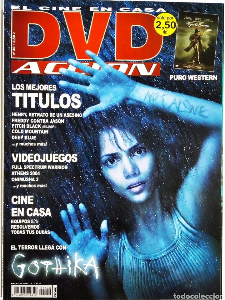 DVD ACCION REVISTA CINE EN CASA N40 AGOSTO 2004 (Cine - Revistas - Acción)