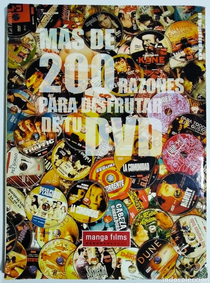 Cine: DVD ACCION GUIA DEL DVD EN ESPAÑA OCTUBRE 2001 - Foto 2 - 208934503
