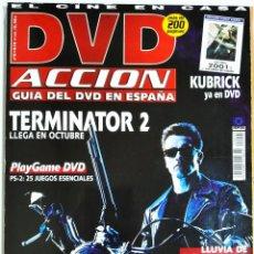 Cine: DVD ACCION GUIA DEL DVD EN ESPAÑA OCTUBRE 2001. Lote 208934503