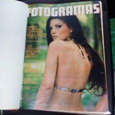 Cinema: FOTOGRAMAS TOMO ENCUADERNADOS FOTOGRAMAS AÑO 1974 - 20 NÚMEROS 1341 A 1360 CON POSTERS. VER FOTOS.. Lote 209011800