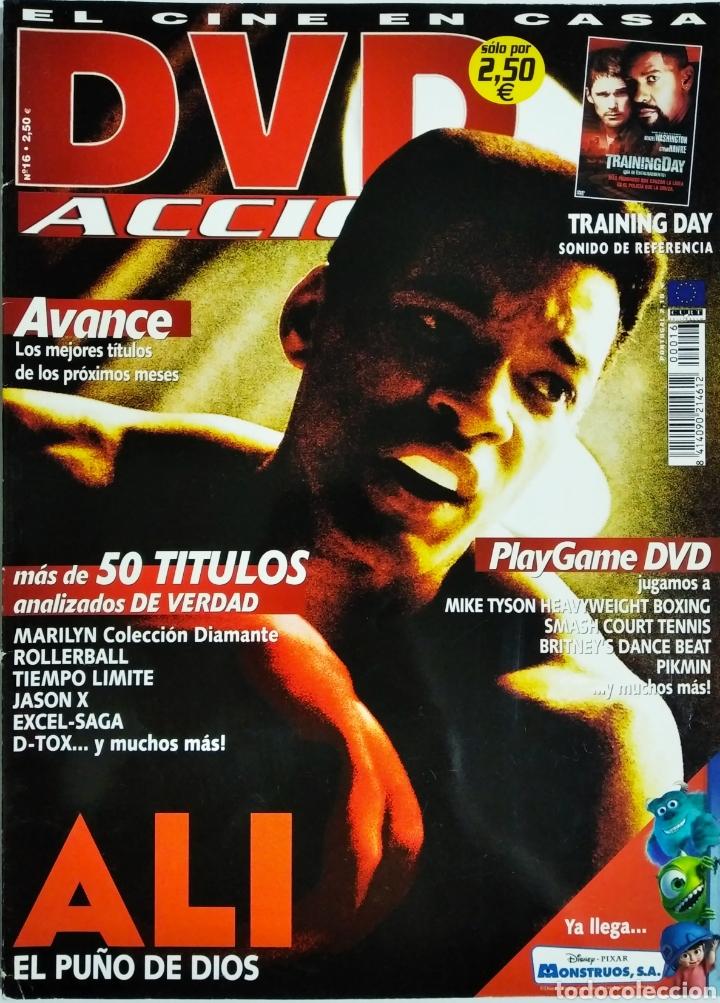 DVD ACCION REVISTA CINE EN CASA N16 AGOSTO 2002 (Cine - Revistas - Acción)