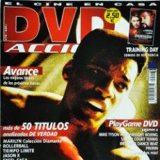 Cine: DVD ACCION REVISTA CINE EN CASA N16 AGOSTO 2002. Lote 209062671