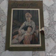 Cine: POPULAR FILM Nº 49, 1927,. Lote 209107286