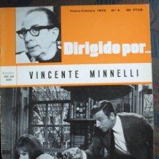 Cine: DIRIGIDO POR Nº 4 - VINCENTE MINNELLI. Lote 209113337