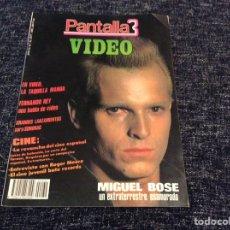 Cinema: PANTALLA 3 Nº 32 SEPTIEMBRE 1985 MIGUEL BOSE. Lote 209038040