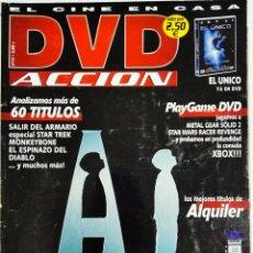 Cine: DVD ACCION REVISTA CINE EN CASA N13 MAYO 2002. Lote 209144190