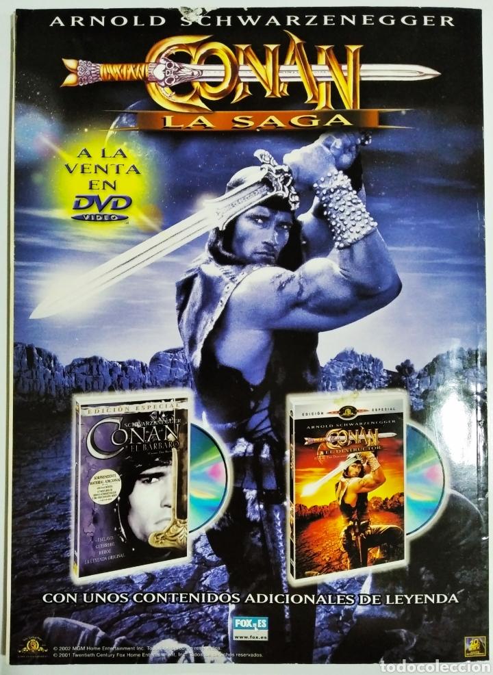 Cine: DVD ACCION REVISTA CINE EN CASA N11 AÑO 2002 - Foto 2 - 209144821