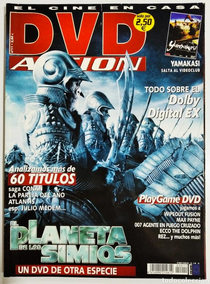DVD ACCION REVISTA CINE EN CASA N11 AÑO 2002 (Cine - Revistas - Acción)