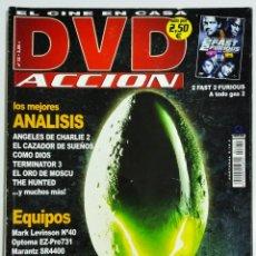 Cine: DVD ACCION REVISTA CINE EN CASA N32 AÑO 2003. Lote 209145752