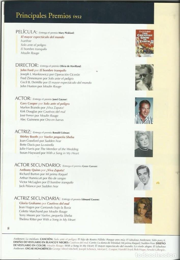 Cine: ENCICLOPEDIA DE LOS OSCARS 1952-1956 - Foto 2 - 209276945