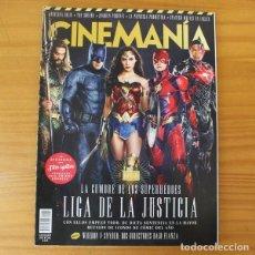 Cinema: CINEMANIA 266 NOVIEMBRE 2017 LIGA DE LA JUSTICIA, ANGELINA JOLIE, JOAQUIN PHOENIX, STRANGER THINGS... Lote 209308125