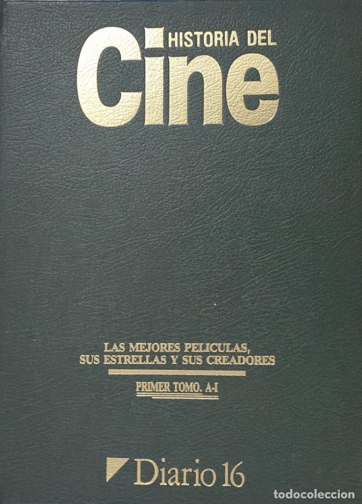 HISTORIA DEL CINE, LAS MEJORES PELICULAS, SUS CREADORES Y SUS ESTRELLAS.2 TOMOS. D16 (Cine - Revistas - La Gran Historia del cine)