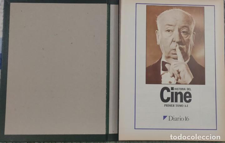 Cine: Historia del cine, las mejores peliculas, sus creadores y sus estrellas.2 tomos. D16 - Foto 2 - 209610692