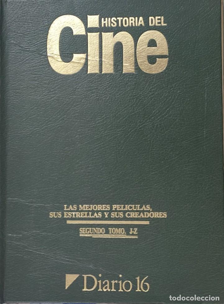 Cine: Historia del cine, las mejores peliculas, sus creadores y sus estrellas.2 tomos. D16 - Foto 3 - 209610692