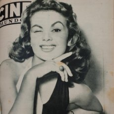 Cine: REVISTA CINE MUNDO 1955 MARIA-PIA CASILIO GRACE KELLY SUSAN HAYWORD PABLITO CALVO VIRGINIA MAYO. Lote 209743925