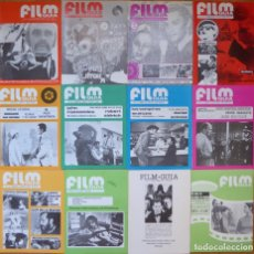 Cine: LOTE 12 REVISTAS DE CINE FILM GUÍA NÚMEROS 1 A 15+EXTRA (1974-1977) - FALTAN 4 (9,10,11 Y 13). Lote 209780155