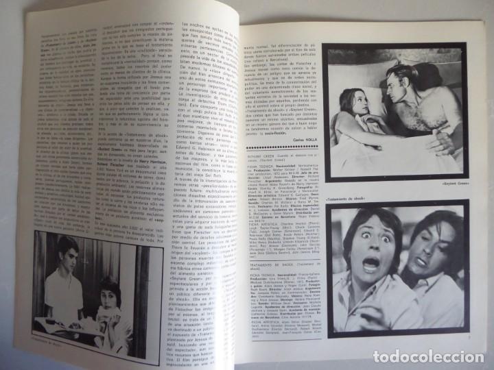 Cine: Lote 12 revistas de cine Film Guía números 1 a 15+Extra (1974-1977) - Faltan 4 (9,10,11 y 13) - Foto 4 - 209780155