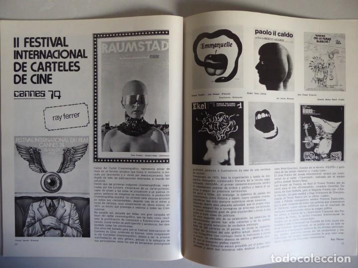 Cine: Lote 12 revistas de cine Film Guía números 1 a 15+Extra (1974-1977) - Faltan 4 (9,10,11 y 13) - Foto 5 - 209780155