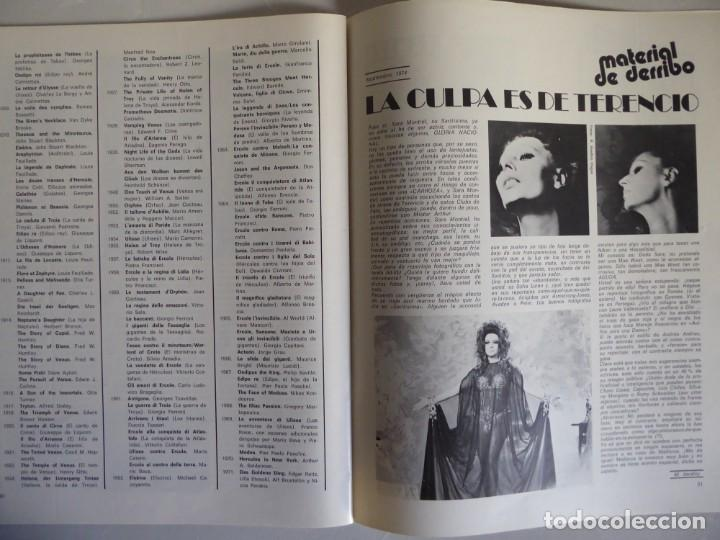 Cine: Lote 12 revistas de cine Film Guía números 1 a 15+Extra (1974-1977) - Faltan 4 (9,10,11 y 13) - Foto 7 - 209780155