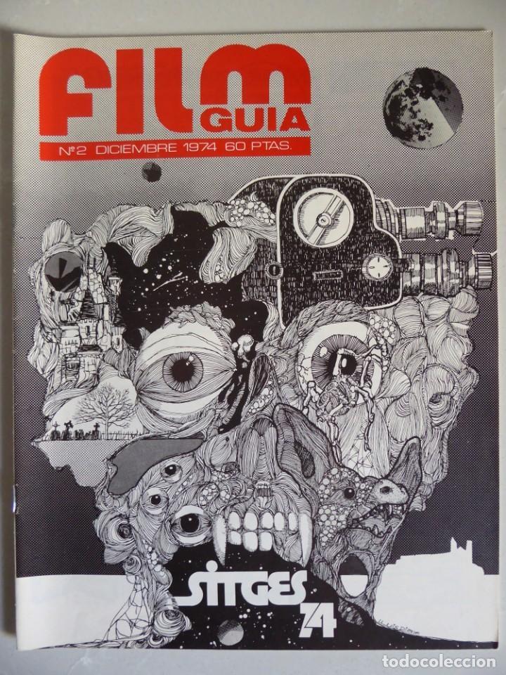 Cine: Lote 12 revistas de cine Film Guía números 1 a 15+Extra (1974-1977) - Faltan 4 (9,10,11 y 13) - Foto 9 - 209780155