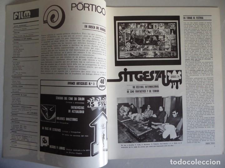 Cine: Lote 12 revistas de cine Film Guía números 1 a 15+Extra (1974-1977) - Faltan 4 (9,10,11 y 13) - Foto 10 - 209780155