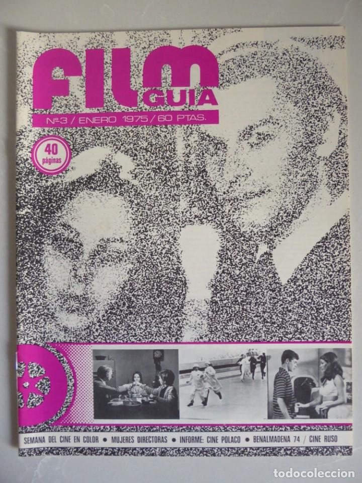 Cine: Lote 12 revistas de cine Film Guía números 1 a 15+Extra (1974-1977) - Faltan 4 (9,10,11 y 13) - Foto 13 - 209780155