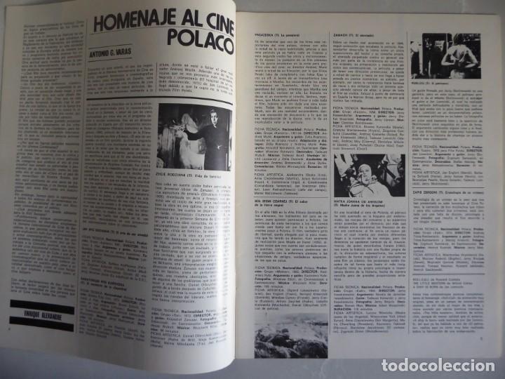 Cine: Lote 12 revistas de cine Film Guía números 1 a 15+Extra (1974-1977) - Faltan 4 (9,10,11 y 13) - Foto 14 - 209780155