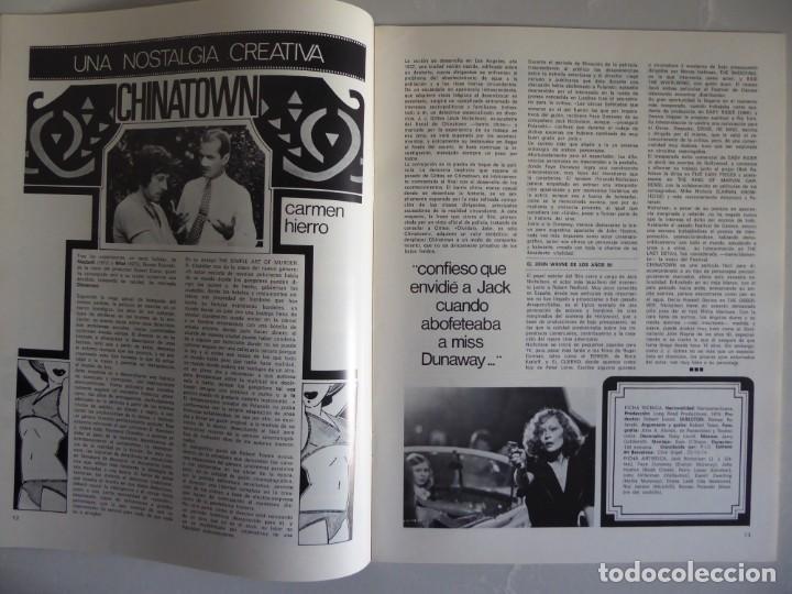 Cine: Lote 12 revistas de cine Film Guía números 1 a 15+Extra (1974-1977) - Faltan 4 (9,10,11 y 13) - Foto 15 - 209780155