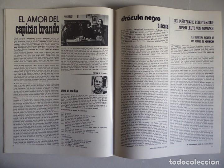Cine: Lote 12 revistas de cine Film Guía números 1 a 15+Extra (1974-1977) - Faltan 4 (9,10,11 y 13) - Foto 16 - 209780155