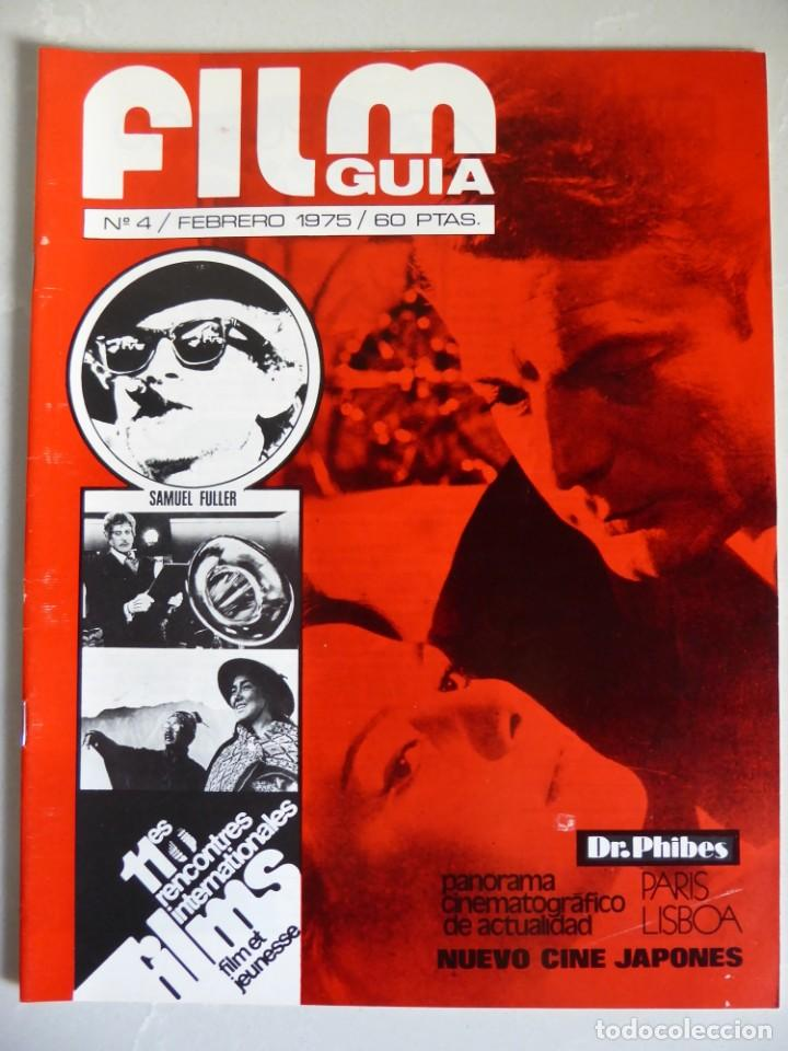 Cine: Lote 12 revistas de cine Film Guía números 1 a 15+Extra (1974-1977) - Faltan 4 (9,10,11 y 13) - Foto 18 - 209780155