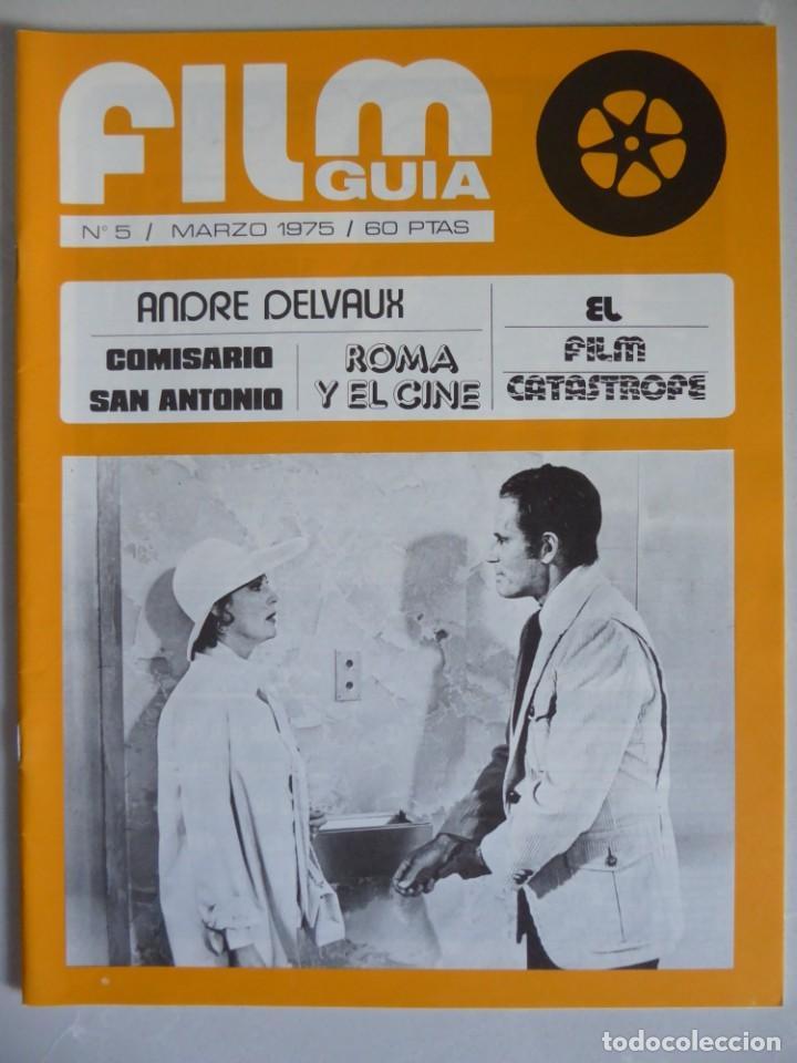 Cine: Lote 12 revistas de cine Film Guía números 1 a 15+Extra (1974-1977) - Faltan 4 (9,10,11 y 13) - Foto 20 - 209780155
