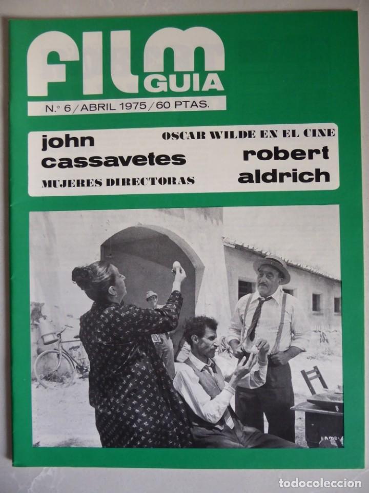 Cine: Lote 12 revistas de cine Film Guía números 1 a 15+Extra (1974-1977) - Faltan 4 (9,10,11 y 13) - Foto 25 - 209780155